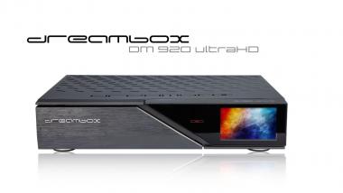Dreambox DM 920 UHD 4K 1x DVB-S2 Dual Tuner E2 Linux PVR Receiver