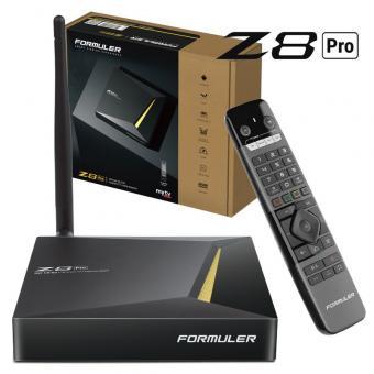 Formuler Z8 PRO 4K UHD IPTV Android 7 Player H.265 2GB RAM 16GB Flash Gigabit 5GHz Wlan