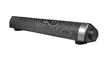 MEGASAT Soundbar1 zur Audio-Erweiterung für Camping TV