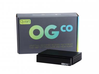 QVIART OGco Full HD DVB-S2 Multistream H.265 Linux OTT IPTV