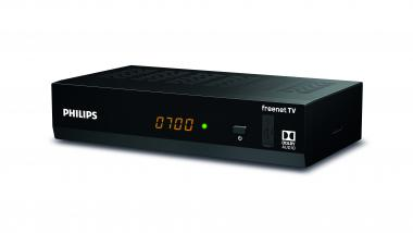Philips Digitaler DTR 350 2B HD DVB-T2 Receiver mit Freenet TV