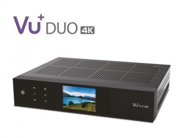VU+® Duo 4K 1 x DVB-T2 DUAL Tuner PVR ready Linux Receiver UHD 2160p