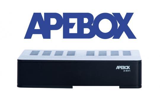 APEBOX S WIFI FULL HD DVB-S2 SAT RECEIVER