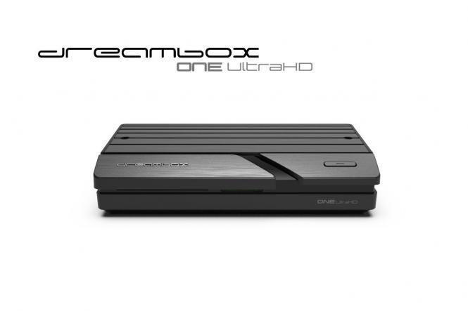 Dreambox One Ultra HD 2x DVB-S2X MIS Tuner 4K 2160p E2 Linux Dual Wifi H.265 HEVC