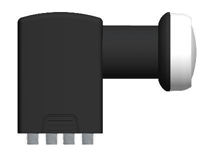 GT-QD40M Compact Line Quad LNB