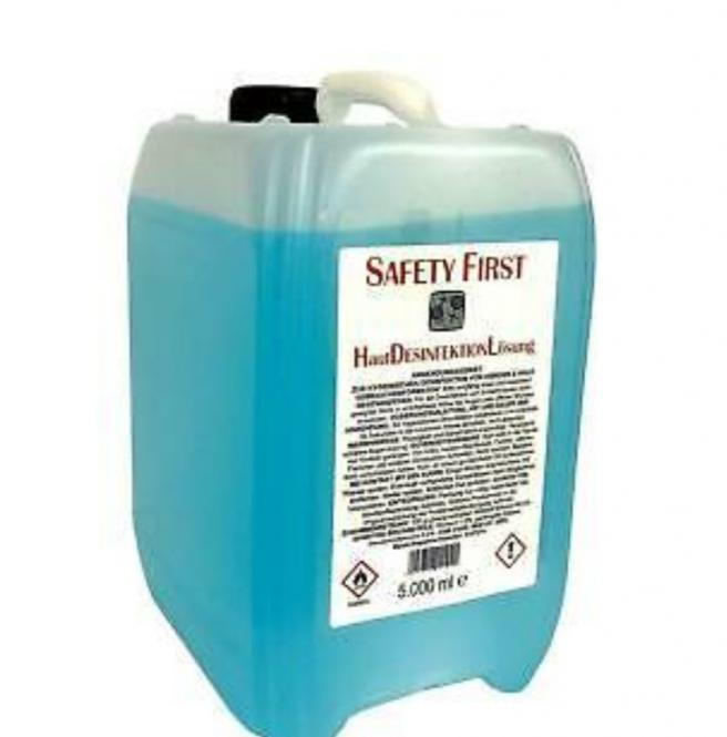 Safety First Hautdesinfektion